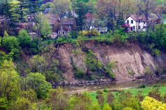 Homes above the Humber River, Toronto