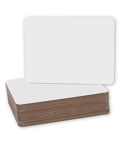 Another great find on #zulily! White Dry-Erase Board - Set of 24 #zulilyfinds