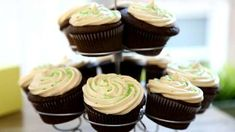 Chocolate Beer Cupcakes with Whiskey Filling Allrecipes.com