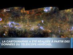 Une nouvelle cartographie de la Voie Lactée réalisée grâce au télescope ...