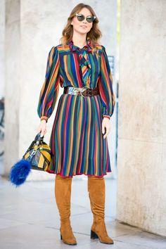On the street of Paris Fashion Week. Photo: Imaxtree.