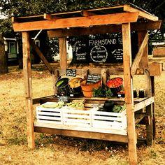 Cain Family Farm self serve stand Farmers Market Display, Micro Farm, Vegetable Stand, Market Stands, Farm Gate, Homestead Farm, Garden Stand, Fruit Stands, Market Garden