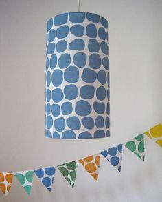 Maak een stempel, druk af op stof of op een lamp, hoe eenvoudig kan het zijn....en prachtig!