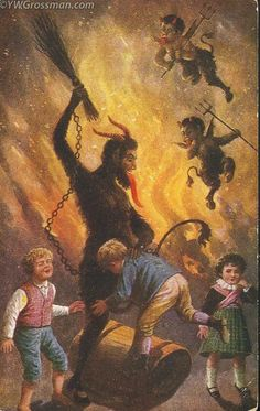 28 Best Krampus Images On Pinterest Xmas Natal And Christmas