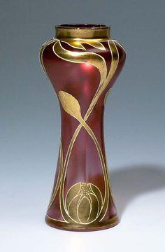 Jugendstil-Vase (artist unknown)