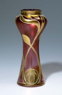 Jugendstil-Vase (artist unknown)