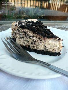 Oreo cheesecake #cheesecake