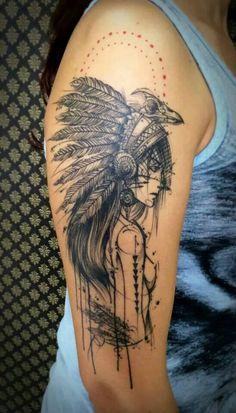 Tattoo by Maxwell Alves - Studio El Cuervo Ink