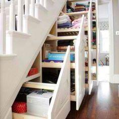 Great under stairs storage solution