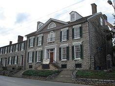 Paris, Kentucky - Duncan Tavern- built in 1788