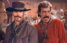 Johnny Ringo and Curly Bill Brocius Native American Models, American Actors, Western Film, Western Movies, Tombstone Movie, Tombstone 1993, Johnny Ringo, Doc Holliday, Old Movie Stars