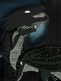 WoF - Moonwatcher and Darkstalker by AnaPaulaDBZ.deviantart.com on @DeviantArt