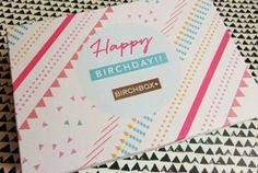 Birch Box September - Happy Birchday!!