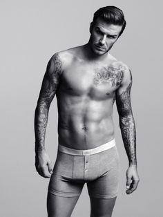 Beckham in boxers