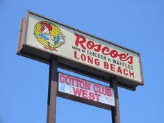 Roscoe's House of Chicken and Waffles in Long Beach, CA