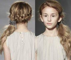 Ideas de peinados para niñas 2015 con trenzas
