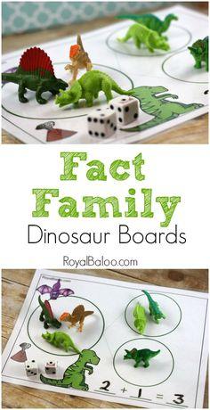 Fact Family Themed Mats