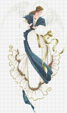 Cross stitch *<3* Angel