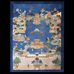 Chinese Art Deco Rug #22506