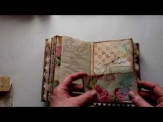 Vintage journal - Guest Design Team project for Nectars Creations - YouTube