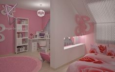 love the room just too much pink for me