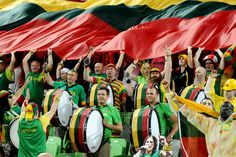 Lithuanians like basketball. No. Lithuanians love basketball.