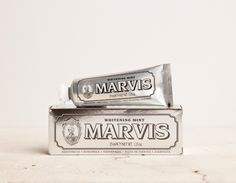 Marvis Toothpaste: Remodelista
