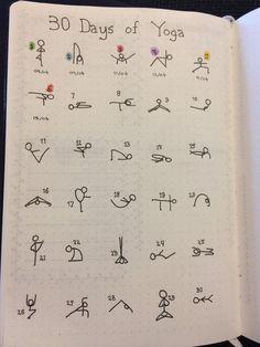 Bullet Journal Workout, Bullet Journal Tracker, Bullet Journal Notebook, Bullet Journal Inspiration, Yoga Journal, Journal Pages, Fitness Journal, Journal Ideas, Vie Motivation