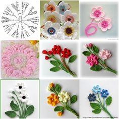 How to Make Crochet Flower for Framing - http://crochetblog.net/how-to-make-crochet-flower-for-framing/