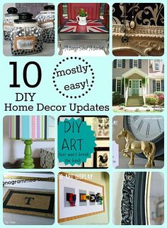 1000  images about Thrifty decorating on Pinterest  Cheap decorating ideas, DIY furniture and