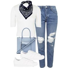 A fashion look from September 2015 featuring Topshop sweaters, Topshop jeans and adidas Originals sneakers. Browse and shop related looks.
