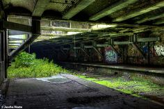 Abandoned subway station in Glasgow Scotland urbex decay