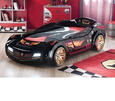 Kids Furniture - Turbo Car Bed - Night Rider