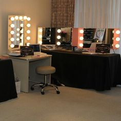 Hollywood vanities