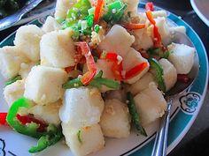 Salt and Pepper Tofu from Mandarette