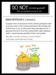 The Oatmeal's DOs and DO NOTs of Running your First Marathon | Runner's World