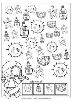 sommerkalender, wahrnehmung, aufmerksamkeit, feinmotorik, legasthenie, dyskalkulie, eltern