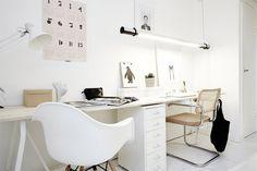 BINNENKIJKEN. Wit als hoofdtoon in Zweeds appartementje - De Standaard