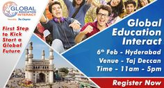 The Chopras organize a global level event: the Global Education Interact 2017 on 6th February in Hyderabad for students aspiring higher education abroad. The event will see country experts from top ranking universities, admission process for 2017 intakes, counseling on courses, scholarships, visa and much more.
