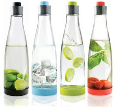 Multi Carafe Drink Jug by Nuance - Pure Modern Design Contemporary Kitchen Accessories