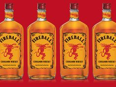 """Fireball Cinnamon Whiskey, the 33 per cent proof drink that claims to """"burns like hell"""", has been pulled from shelves across Europe after it was found to contain too high levels of a chemical also used in anti-freeze."""