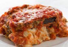 Gratin d'aubergine à la sauce tomate et mozzarella Weight Watchers