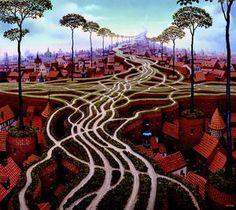 Erosion - (Jacek Yerka)