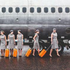 1960-70s Flight Attendants