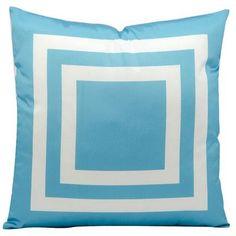 Mercer41 Horovitz Geometric Outdoor Throw Pillow Color: