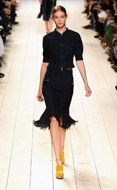 Nina Ricci - PFW Spring/Summer 2015 - www.so-sophisticated.com
