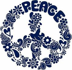 Psychedelic Peace Sign Silhouette Vector Illus Stock Vector - Illustration of beauty, clip: 6616857 Hippie Peace, Happy Hippie, Hippie Love, Hippie Chick, Peace On Earth, World Peace, Woodstock, Flower Power, Poster