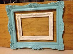 old frames spray painted...looks awesome