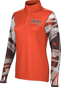 Womens Bowling Green State University Community College Crisscross Half Zip Long Sleeve >>> You can get more details by clicking on the affiliate link Amazon.com.