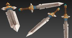 LOWPOLY (sub 1000~ triangle models) - Page 434 - Polycount Forum